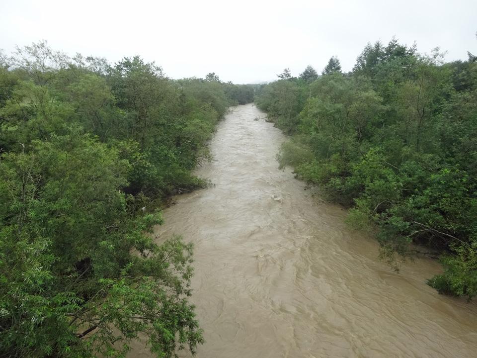 釧路川橋から釧路川